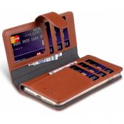 Melkco Wallet Extra Cardslots (iPhone 8/7 Plus) - Brun