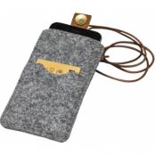 P.A.P Design - Klippan Felt Cover (iPhone 8/7/6(S) Plus) - Ljusgrå