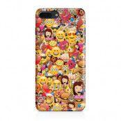 Skal till Apple iPhone 7/8 Plus - Emoji - Kollage