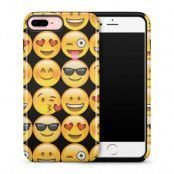 Tough mobilskal till Apple iPhone 7 Plus - Emoji - Smileys