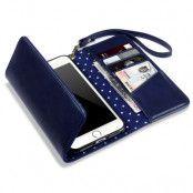 Trifold Plånboksfodral till iPhone 7 Plus - Blå