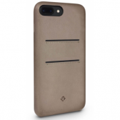Twelve South Relaxed Leather With Pockets (iPhone 8/7 Plus) - Beige