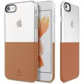 Baseus Half to Half (iPhone SE2/8/7) - Brun
