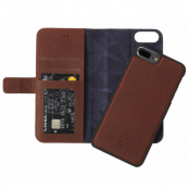 Decoded 2-in-1 Wallet (iPhone 8/7 Plus) - Brun