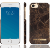 iDeal Of Sweden Fashion Marble (iPhone 8/7) - Brun