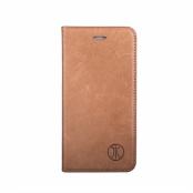 JT Berlin Magic Plånboksfodral av äkta läder till iPhone 7 Plus - Brun (Brun)