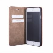 JT Berlin Magic Plånboksfodral av äkta läder till iPhone 7 Plus - Svart (Svart)