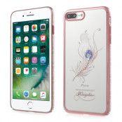 Kingxbar Mobilskal iPhone 7 Plus - Fjäder