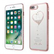 Kingxbar Mobilskal iPhone 7 Plus - Hjärta