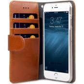 Melkco Wallet Case (iPhone 8/7) - Brun