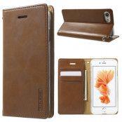 Mercury Wallet Case (iPhone SE2/8/7) - Brun