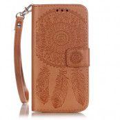 Plånboksfodral till iPhone 7 - Brun Drömfångare