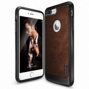 Ringke Leather Style Skal till Apple iPhone 7 Plus - Brun