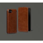 Sena Heritage Äkta Läder Plånboksfodral till iPhone 7 - Cognac