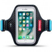 Shocksock Eziflex Sportarmband till iPhone 7 Plus (Svart)