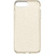 Speck Presidio Clear + Glitter (iPhone 8/7 Plus) - Guld