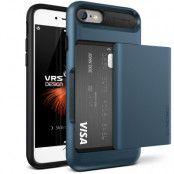 Verus Damda Glide Card Slot Skal till Apple iPhone 7 - Blå