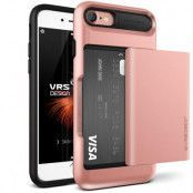 Verus Damda Glide Card Slot Skal till Apple iPhone 7 - Rose Gold