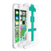 CoveredGear Easy App härdat glas skärmskydd till iPhone 8 Plus / 7 Plus - Vit