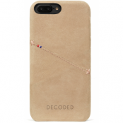 Decoded Leather Back (iPhone 8/7 Plus) - Brun
