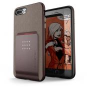 Ghostek Exec 2 Skal till iPhone 8 Plus / 7 Plus - Brun
