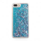 Glitter Skal till Apple iPhone 8/7 Plus - Blå