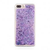 Glitter Skal till Apple iPhone 8/7 Plus - Lila