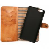 Nic & Mel - Andrew Bookcase (iPhone 8/7/6(S) Plus) - Brun