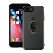 Puro - Magnet Ring Cover iPhone 8 Plus/7 Plus - Svart