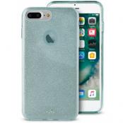 Puro Shine Cover (iPhone 8/7/6(S) Plus) - Ljusblå