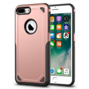 Rugged Armor Skal till iPhone 8 Plus / 7 Plus - Rose Gold