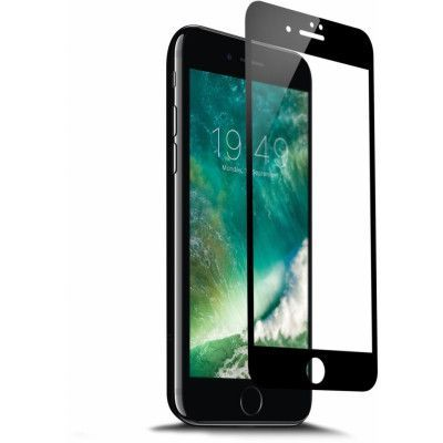 Trasig förpackning: Champion Glass Screen (iPhone 8/7 Plus) - svart