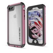 Ghostek Atmoic 3 Vattentätt Skal till Apple iPhone 8/7 - Rosa