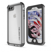 Ghostek Atmoic 3 Vattentätt Skal till Apple iPhone 8/7 - Silver