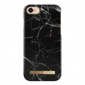 iDeal Fashion Case Till iPhone 7/8/SE 2020 - Svart Marble