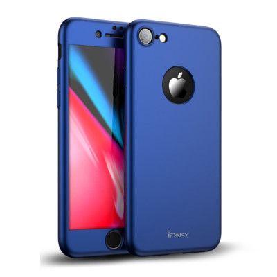 iPaky Hard Case + Screen protector (iPhone 8) - Guld