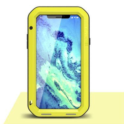Love Mei Rugged Case (iPhone 8/7) - Gul