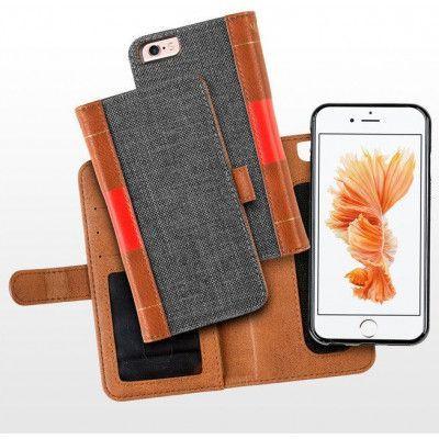 MOC Book Flip Case (iPhone 8/7) - Svart