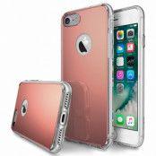RINGKE Fusion Mirror skal till iPhone 7/8/SE 2020 - Rose Gold