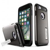SPIGEN Slim Armor Skal till Apple iPhone 8/7 - Gunmetal