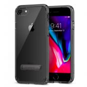 Spigen Ultra Hybrid S (iPhone 8/7) - Gagatsvart