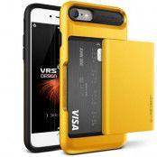 Verus Damda Glide Card Slot Skal till Apple iPhone 8/7 -  Gul