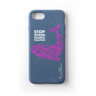 Wilma Stop Ocean Plastic Pollution (iPhone 8/7/6/6S) - Dolphin