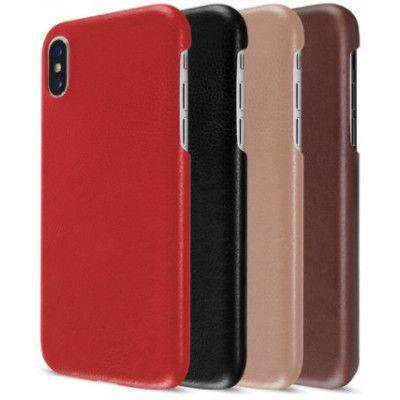Artwizz Leather Clip (iPhone X/Xs) - Brun