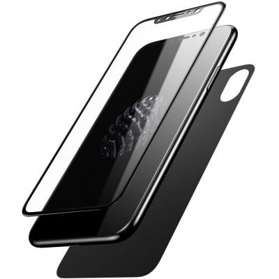 Baseus Glass Film Set (iPhone X/Xs) - Vit