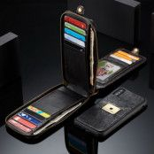 Caseme Plånboksfodral Apple iPhone XS / X - Svart