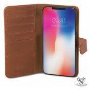 Champion Slim Wallet (iPhone X/Xs) - Brun