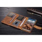 DG Ming Leather Wallet (iPhone X/Xs) - Ljusbrun