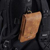 DG Ming Waist Wallet (iPhone X/Xs) - Ljusbrun