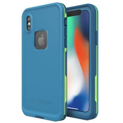 Lifeproof Fre Case (iPhone X) - Svart/lime